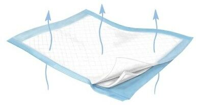 """Low Air Loss Underpad Wing Breathe+23X36"""" Dispose Fluff/Polymer Hvy AbsorbCase72"""