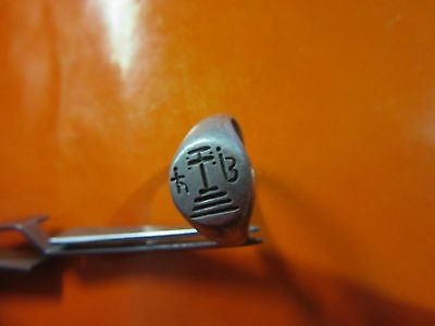 Silver Ancient Roman-Byzantine Cross Silver Ring.