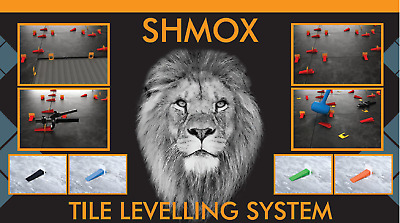 New Shmox Tile Levelling System Trade Pack 3Mm Tool
