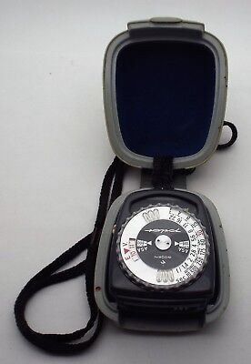 Vintage West Germany Gossen Light Meter Pilot Working Very Good Condition