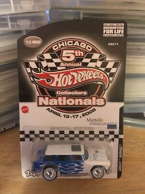 bb4f671217e Collectors Nationals Convention 5th Annual Hot Wheels Chicago Chevy Nomad