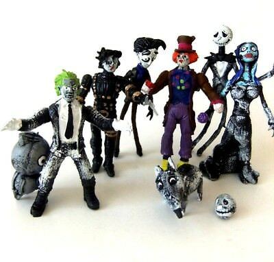 Tim Burton characters beetlejuice scissors hands ed wood corpse bride bootleg