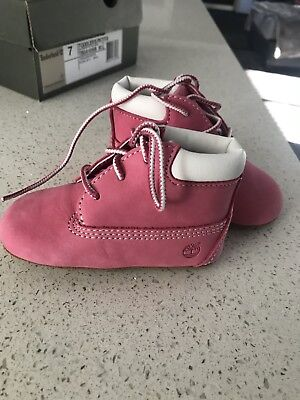 Timberland Baby Shoes Size 3 Pink