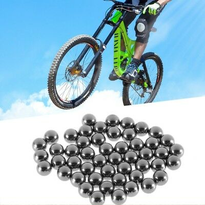 50x Durable Bicycle Stainless Steel Ball Bearing Bikes Replacement Parts 5mm GW