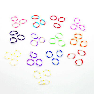 600pcs Colorful Rainbow Loom Rubber Bands With C-clip Bracelet Making DIY Set