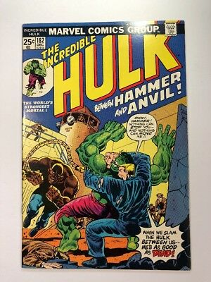 Incredible Hulk #182 - 3rd Wolverine - HIGH GRADE ( X-Men 1 Giant Size 180 181 )