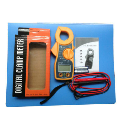 200KΩ Digital Multimeter Buzzer Multimetro Clamp Auto Range Voltage AMP Meter