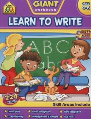 Learn to Write Giant Workbook by Hinkler Books (Paperback, 2013)