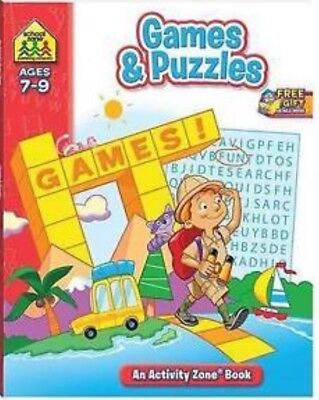 Games and Puzzles: Activity Zone Workbooks by Hinkler Books (Paperback, 2009)