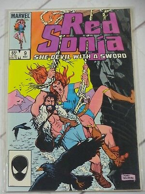 Red Sonja 9 1983 Series Bagged and Boarded - C2653