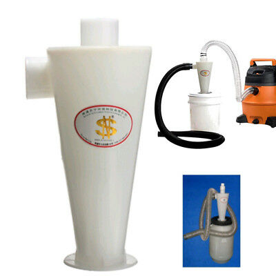 High Efficiency Cyclone Powder Dust Collector Filter Quality For Vacuums New