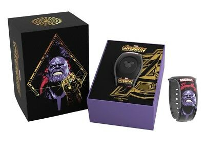 Disney Marvel Avengers Infinity War Magicband 2 Magic Band Thanos LE 3000