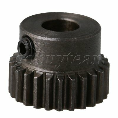 5mm Hole Dia 45# Steel 0.5 Modulus 25T Motor Wheel Gear 13.5x10mm