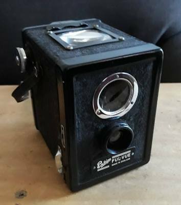 Ensign Ful-Vue Box Camera-Huge viewfinder