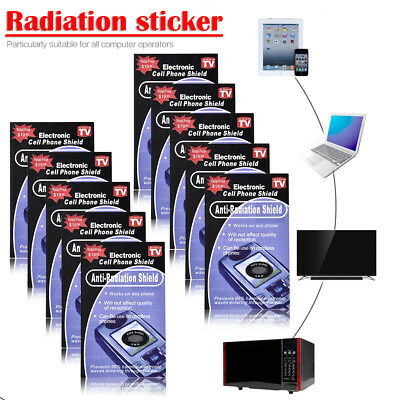 10X Radisafe Anti Radiation EMF Protection Energy Saver Phone Laptop Stickers