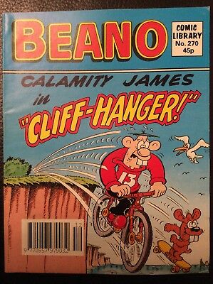 Beano Comic Library 270 Calamity James in Cliffhanger