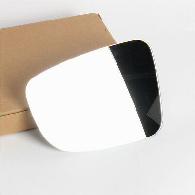 Left Passenger Side Flat Wing Mirror Glass For Renault Clio MK3 2005-2009 Heated