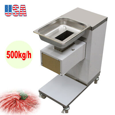 Commercial Slicer Machine Stainless Steel Blade Electric Slicing Cut Meat Fda Ce