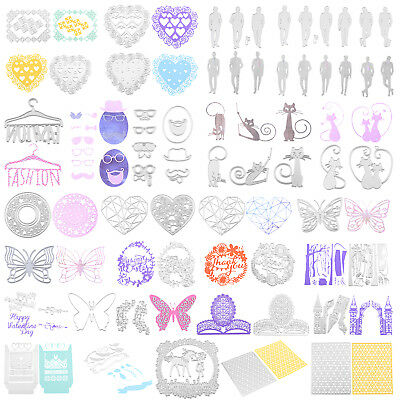 Metal Cutting Dies Stencil Frame DIY Scrapbooking Embossing Album Paper Card