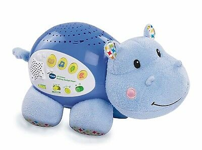 VTech Lil Critters Soothing Starlight Sounds Hippo Kids Toy
