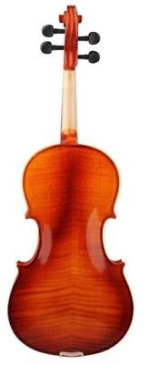 E61 Handmade 4/4 Full Size Wooden Violin Beginners Practice Musical Instrument M