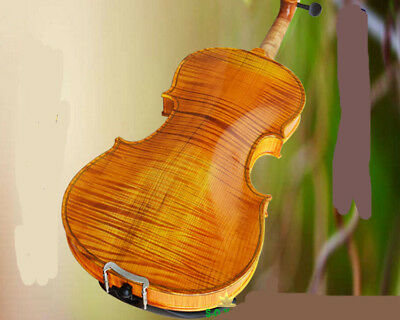 E02 Full Size 4/4 Handmade Wooden Violin Beginners Practice Musical Instrument M