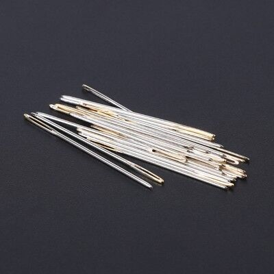 30pcs Tail Embroidery Cross Stitch Fabric Needles Size 22 24 26 For 9 11 14CT