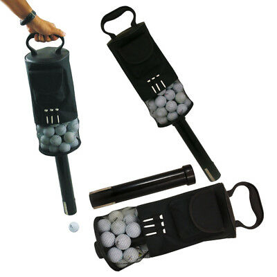 Golf Ball Shag Bag Picker Tasche Pick-up Lagerung Collector Tragbare 75-80 Balls