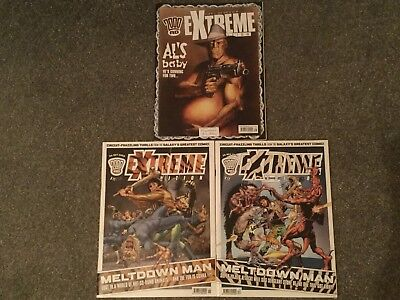2000AD Extreme, Issues 11, 12 And 16