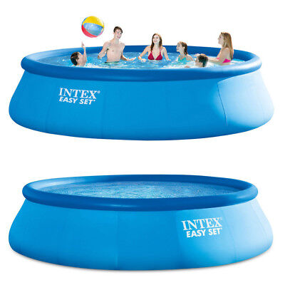 INTEX Easy Set Pool 457x122cm Quick Up Swimming Ersatzpool Ersatzpoolfolie