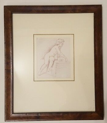 Original 19th.Century Victorian Nude Watercolour WE Frost RA listed provenance