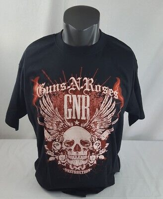Guns N Roses Chinese Democracy World Tour Men's XXL T Shirt