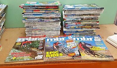 Collection 80 + Mountain Bike Magazines MBR What Mountain Bike