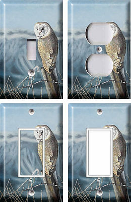 Barn Owl - Light Switch Covers Home Decor Outlet
