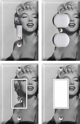 Marilyn Monroe 1 - Light Switch Covers Home Decor Outlet