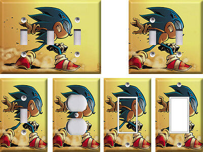Sonic the Hedgehog 1 - Light Switch Covers Home Decor Outlet