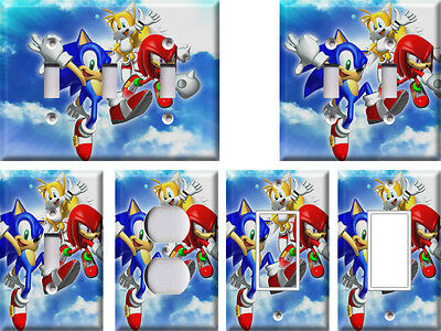 Sonic the Hedgehog 2 - Light Switch Covers Home Decor Outlet