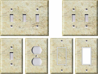 Tuscan Stone - Light Switch Covers Home Decor Outlet