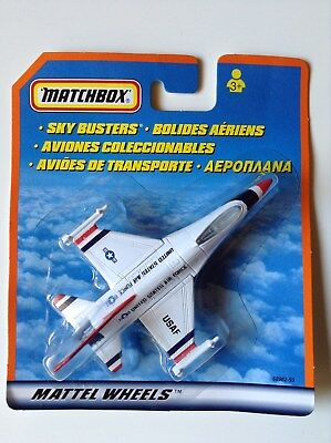 Matchbox Skybusters Military US Air Force F-16 Fighting Falcon