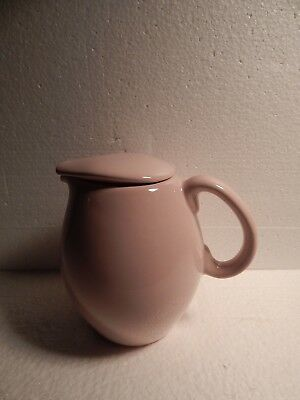 Russel Wright Iroquois Casual China- Pink Pitcher, Coffee / Tea Pot