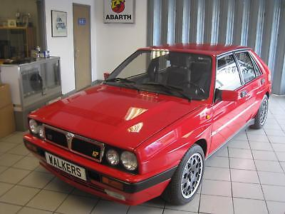 1990 Lancia Delta HF Integrale 2.0 4wd 16v, Monza Red,Outstanding Example!