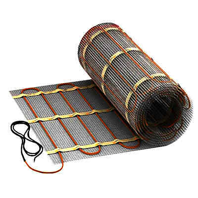 Electric Floor Heating Tiles 1-12M ² 160W/m² dünnbett Heating Carpet Bath VDE