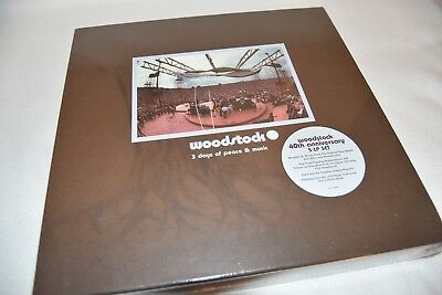 Woodstock - 3 Days Of Love & Peace / 40Th Anniversary Box / Factory Sealed / Ovp
