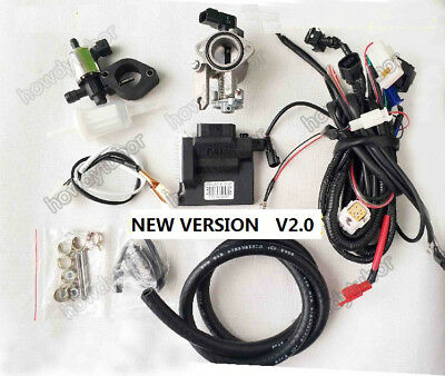 FAI motorcycle scooter buggy moped UAV EFI engine Electronic Fuel Injection kit