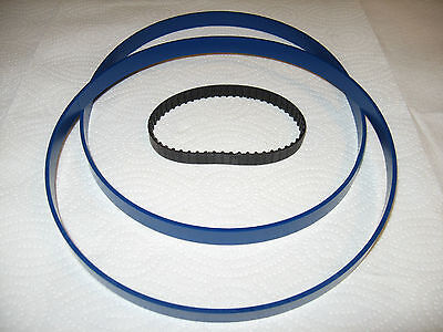 2 Blue Max Urethane Band Saw Tires And Drive Belt For Ryobi Model Bs901 Band Saw