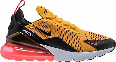Nike Air Max 270 Gold Yellow Running Shoes AH8050-003 For Men CHOOSE YOUR SIZE