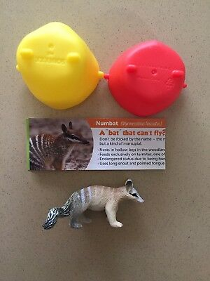 Yowie NUMBAT Rescue Series 3 BRAND NEW US Surprise Egg Mini Figure