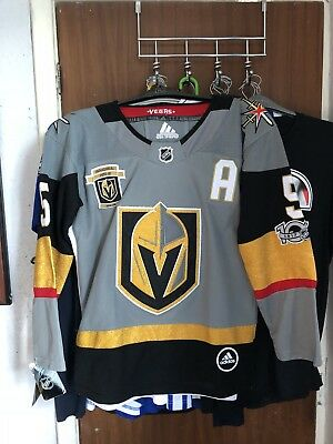 free shipping dc5a1 b64ed VEGAS GOLDEN KNIGHTS,HOME jersey,#5 Engelland,Youth Large.BNWT (china Fake).