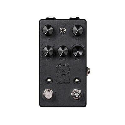 JHS Lucky Cat Tape Digital Delay Guitar Effects Pedal Stompbox Tap Tempo BLACK