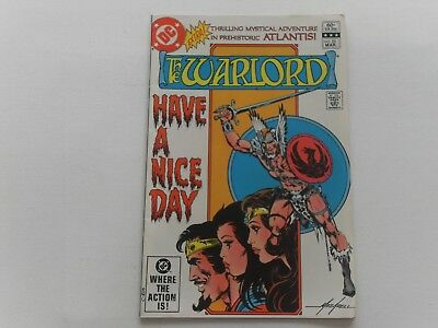 Warlord #55  March 1982  Dc Comics,  Mike Grell Art